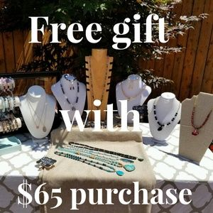 Free gift with $65 purchase